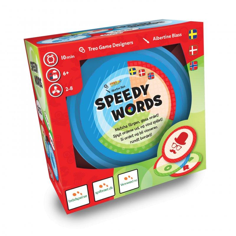 Speedy Words - Brætspil - Nordisk