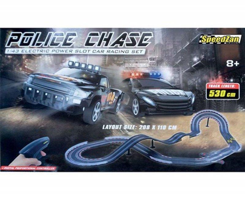 Speedzan Legetøjs Racerbane - Police Chase 530 Cm
