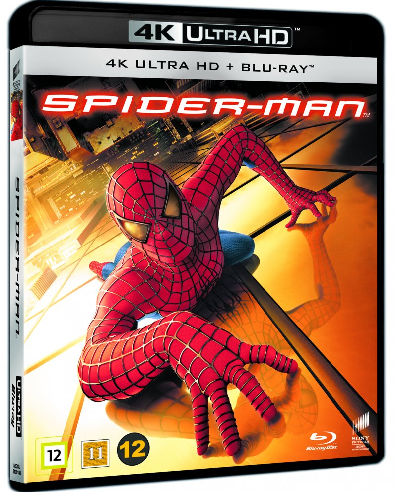 Image of   Spiderman 1 - 4K Blu-Ray