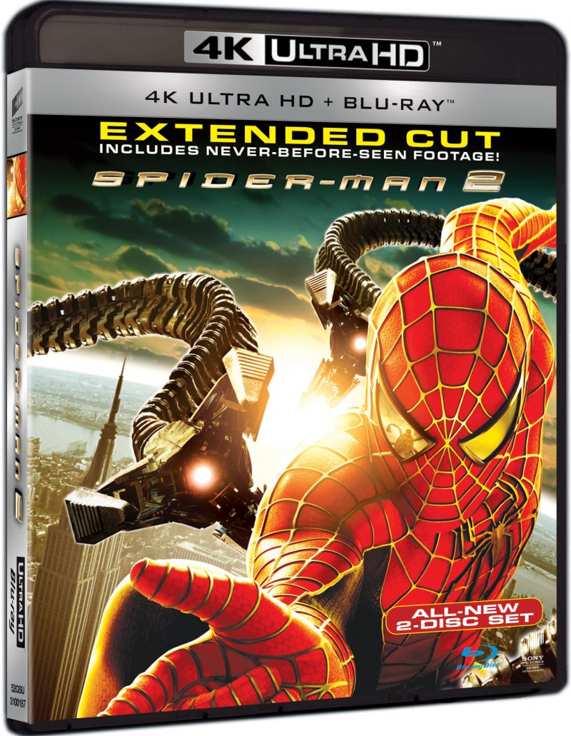 Image of   Spiderman 2 - 4K Blu-Ray