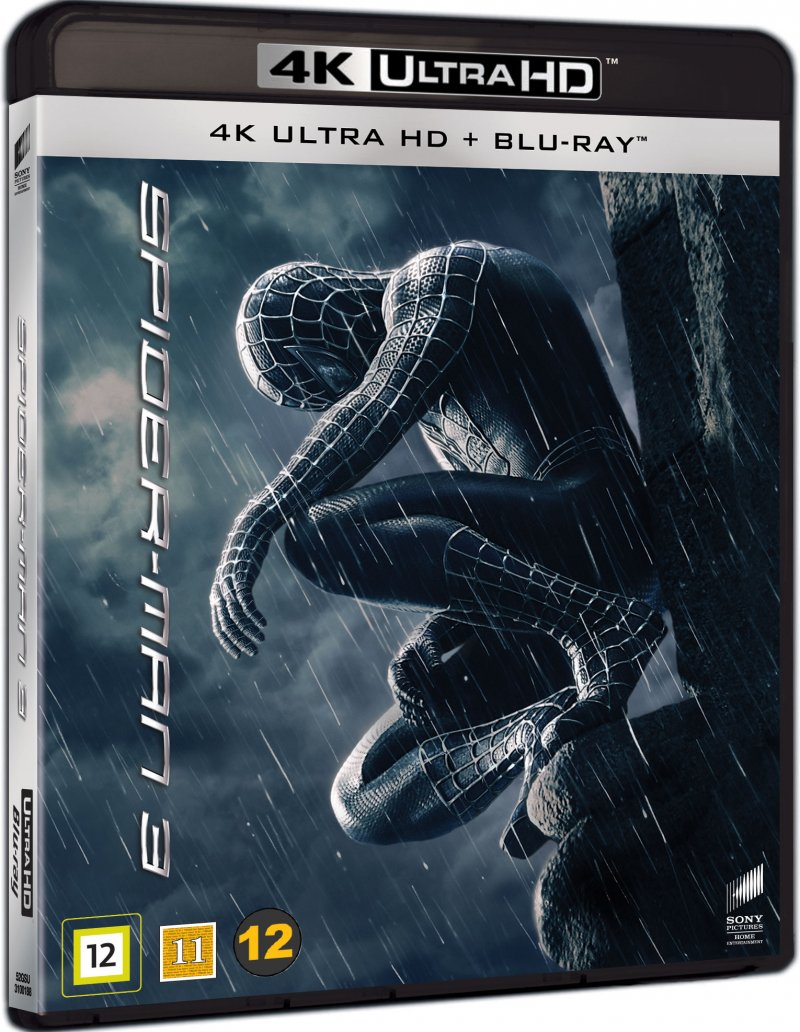 Image of   Spiderman 3 - 4K Blu-Ray