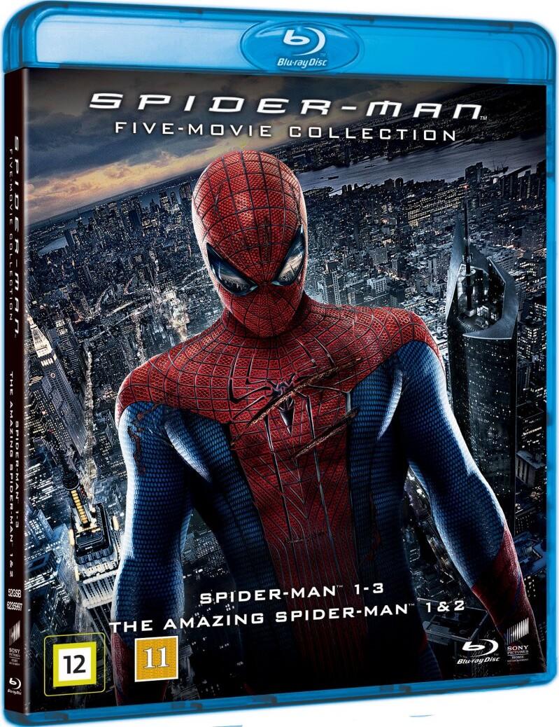 Spider Man 1 3 The Amazing Spider Man 1 2 Blu Ray Film