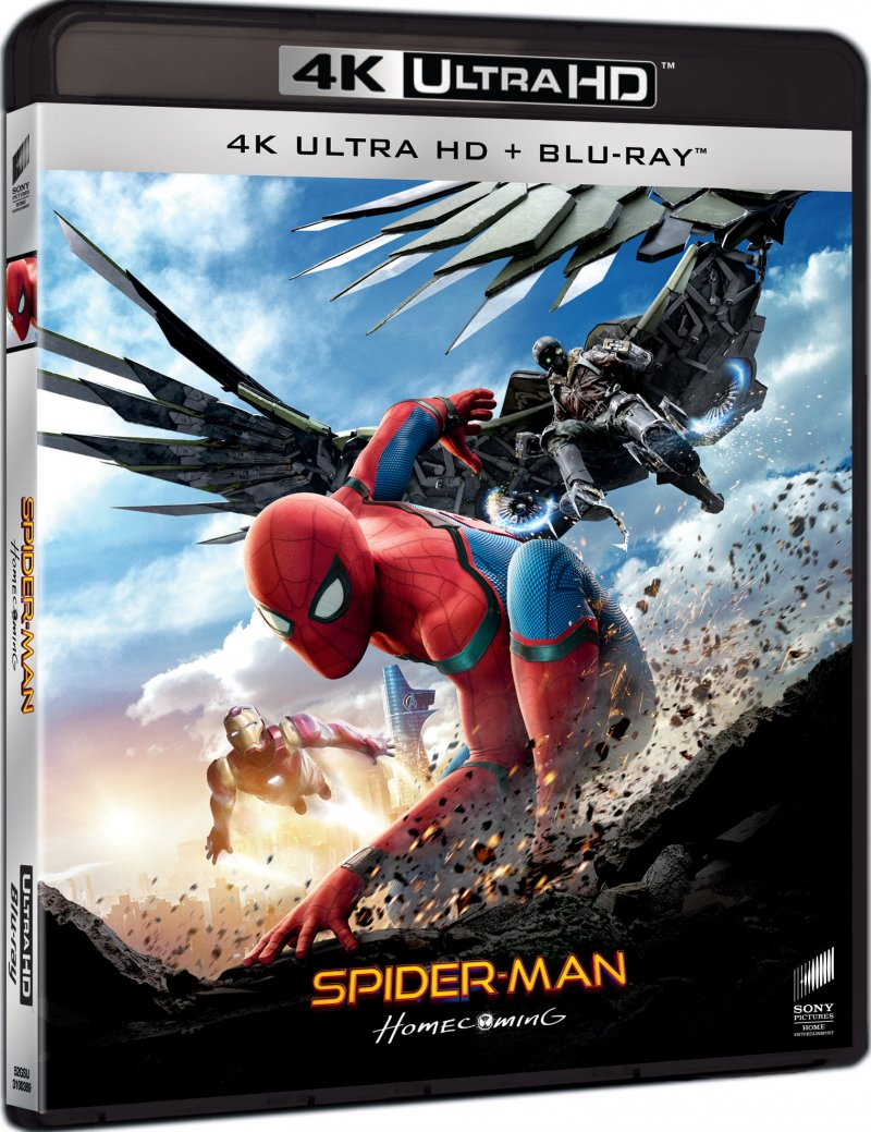 Image of   Spiderman: Homecoming - 4K Blu-Ray