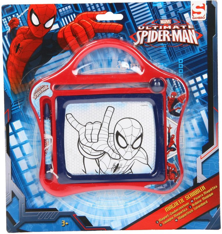 Image of   Spiderman Magnetisk Tegnetavle