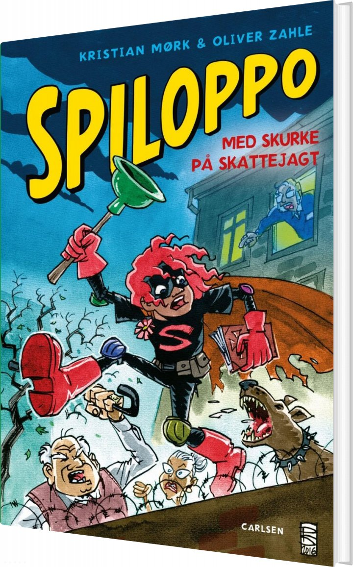 Spiloppo 2 - Med Skurke På Skattejagt - Oliver Zahle - Bog