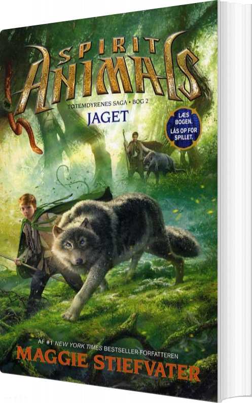 Spirit Animals 2: Jaget - Maggie Stiefvater - Bog