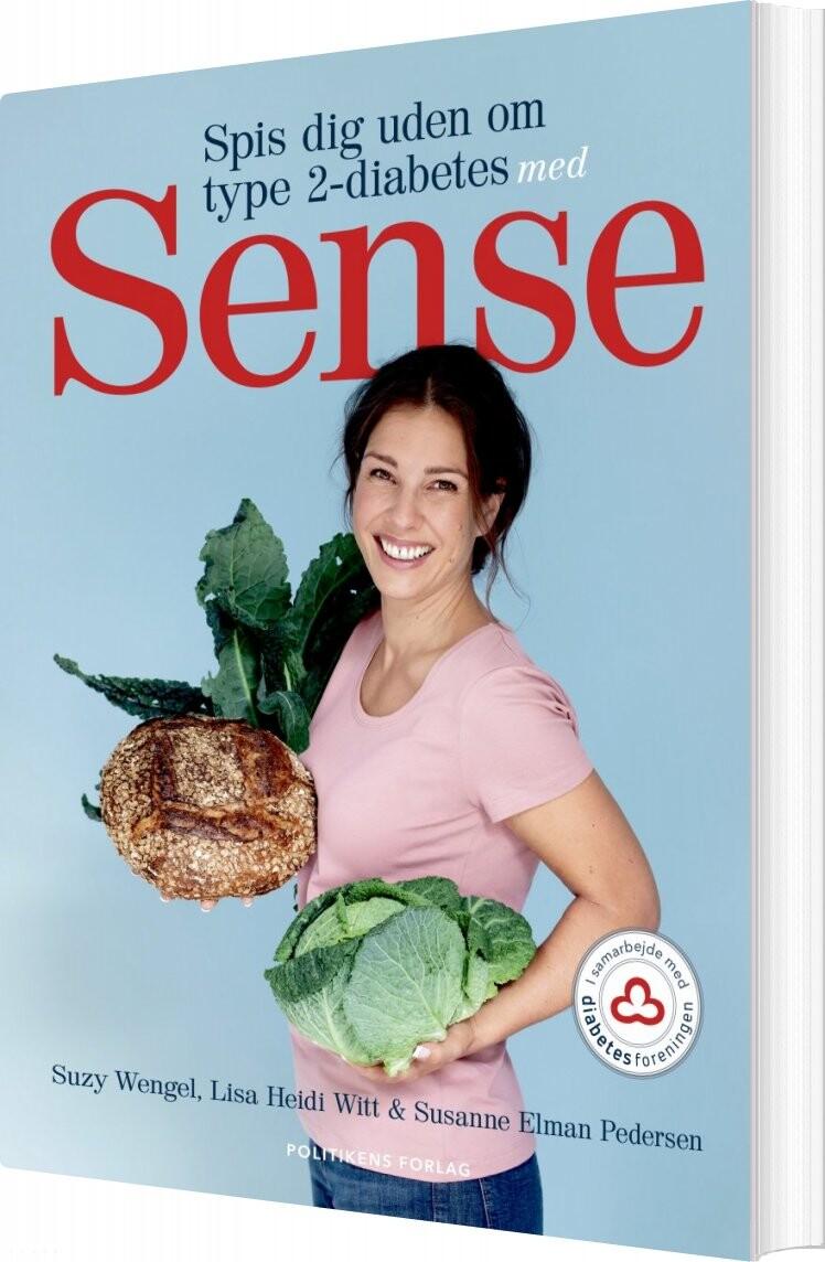 Image of   Spis Dig Uden Om Type 2-diabetes Med Sense - Suzy Wengel - Bog