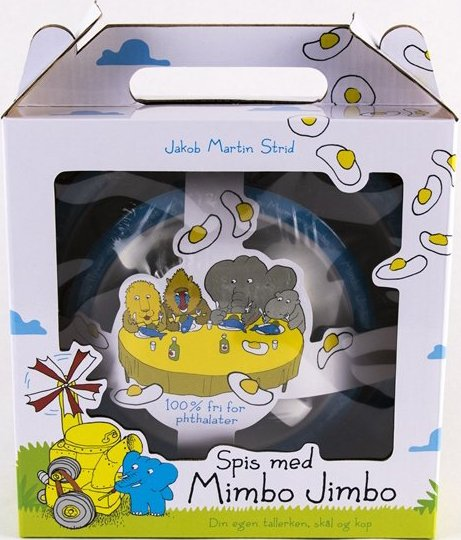 Image of   Spisesæt Til Børn - Spis Med Mimbo Jimbo