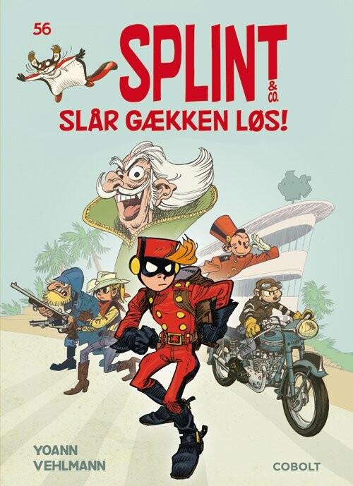 Billede af Splint & Co. 56: Splint & Co. Slår Gækken Løs! - Vehlman - Tegneserie