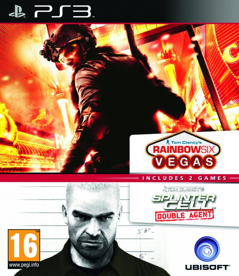 Image of   Splinter Cell Double Agent + Rainbow 6 Vegas Compilation - PS3