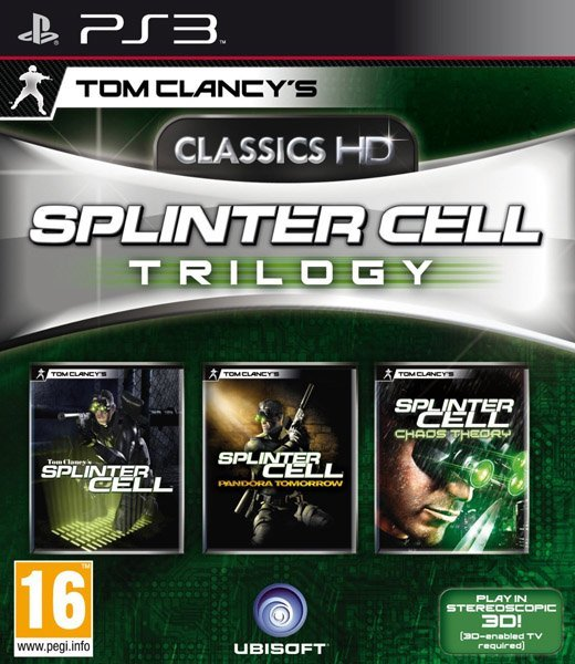Image of   Splinter Cell Trilogy Hd - PS3
