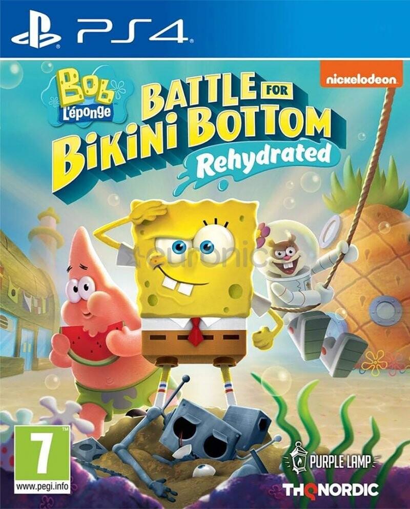 Image of   Spongebob Squarepants: Battle For Bikini Bottom - Rehydrated - PS4