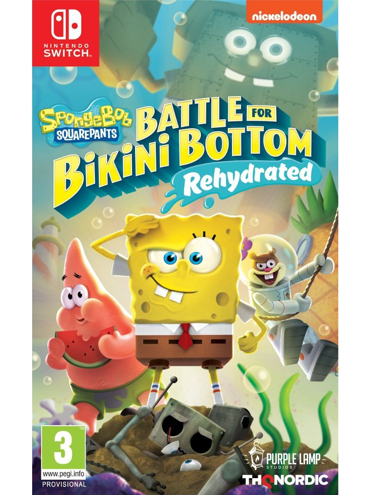 Image of   Spongebob Squarepants: Battle For Bikini Bottom - Rehydrated - Nintendo Switch