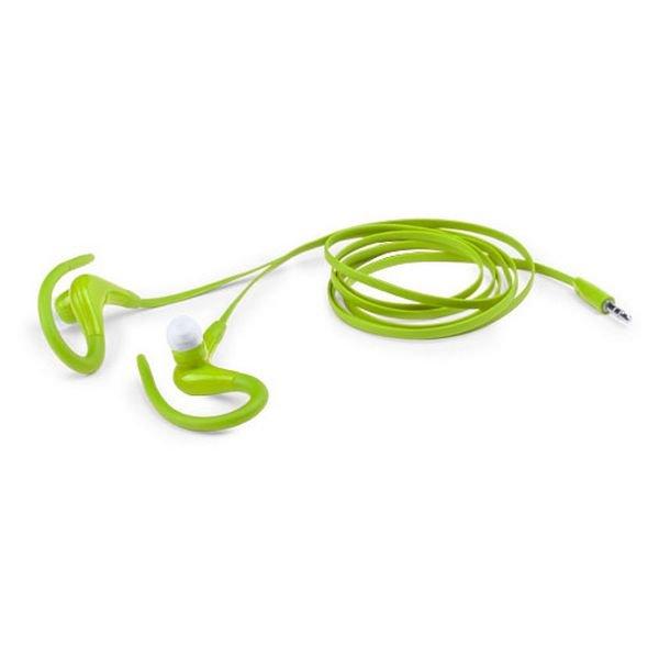 Billede af Sports Høretelefoner Med Jackstik - Grøn