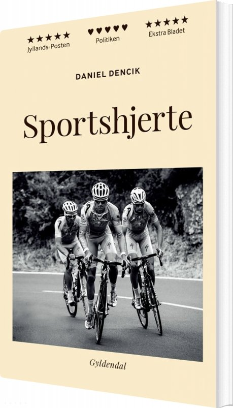 Image of   Sportshjerte - Daniel Dencik - Bog