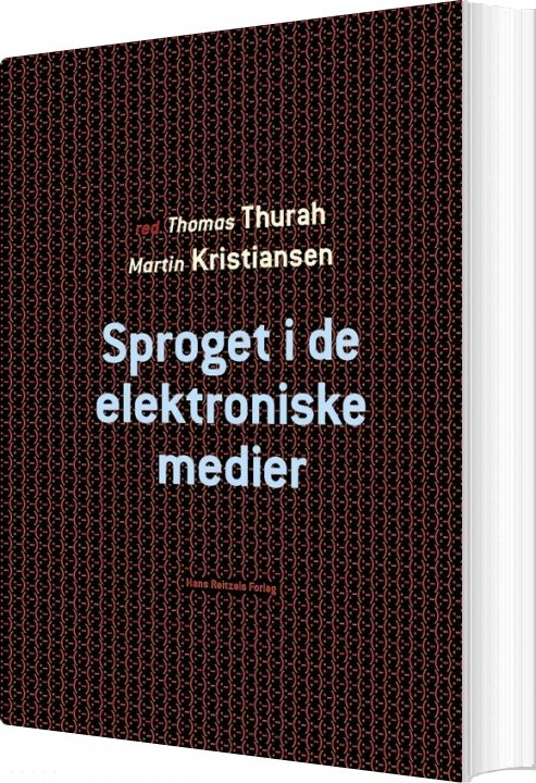 Image of   Sproget I De Elektroniske Medier - Leif Becker Jensen - Bog