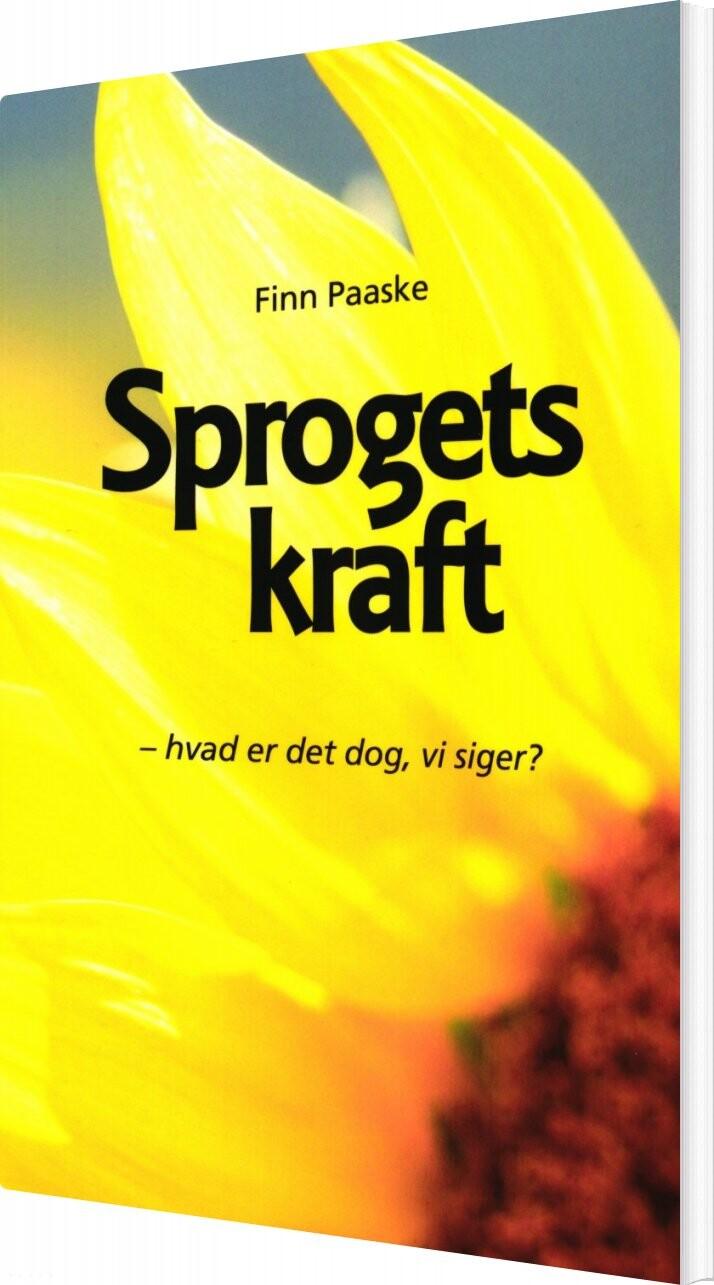 Billede af Sprogets Kraft - Finn Paaske - Bog
