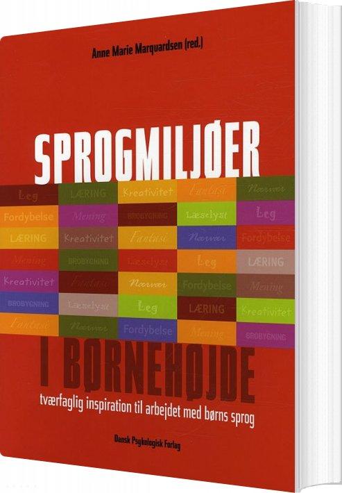 Image of   Sprogmiljøer I Børnehøjde - Palle Vestberg - Bog