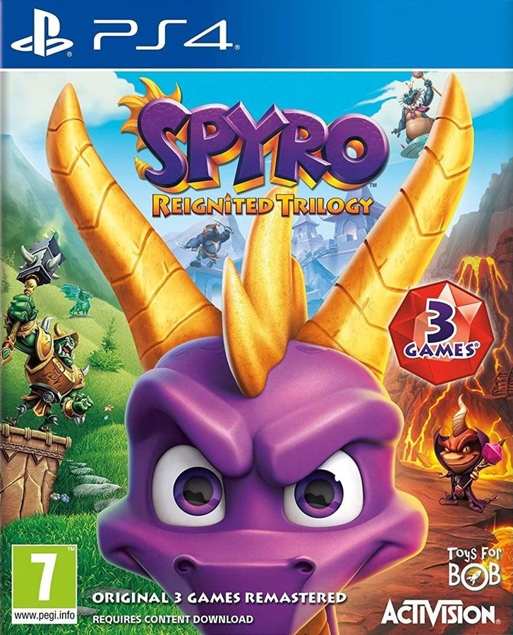 Image of   Spyro Reignited Trilogy (nordic) - PS4