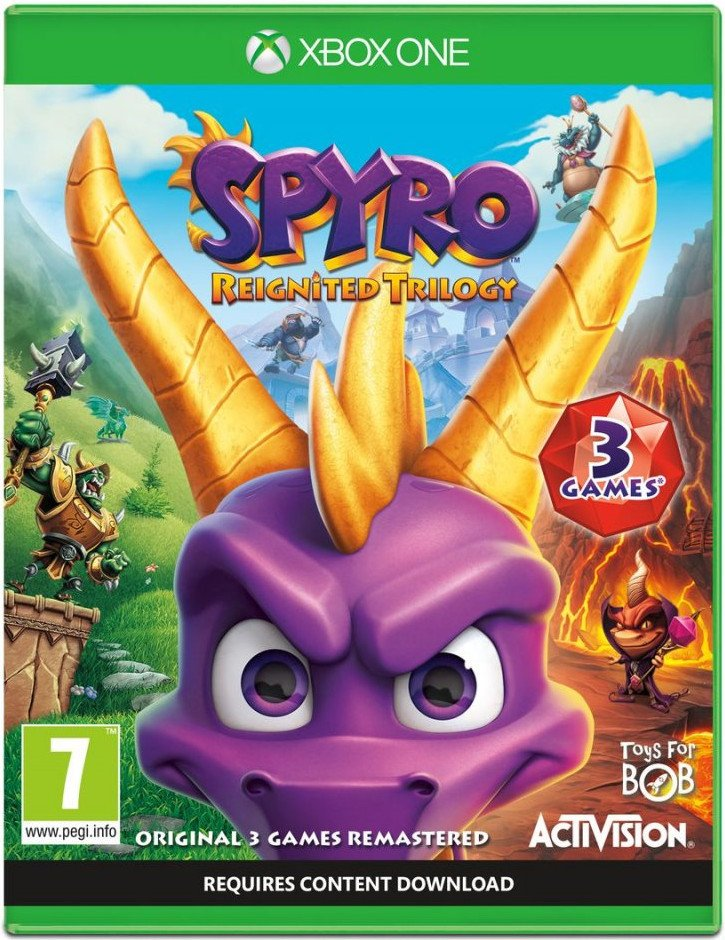 Image of   Spyro Reignited Trilogy - Xbox One