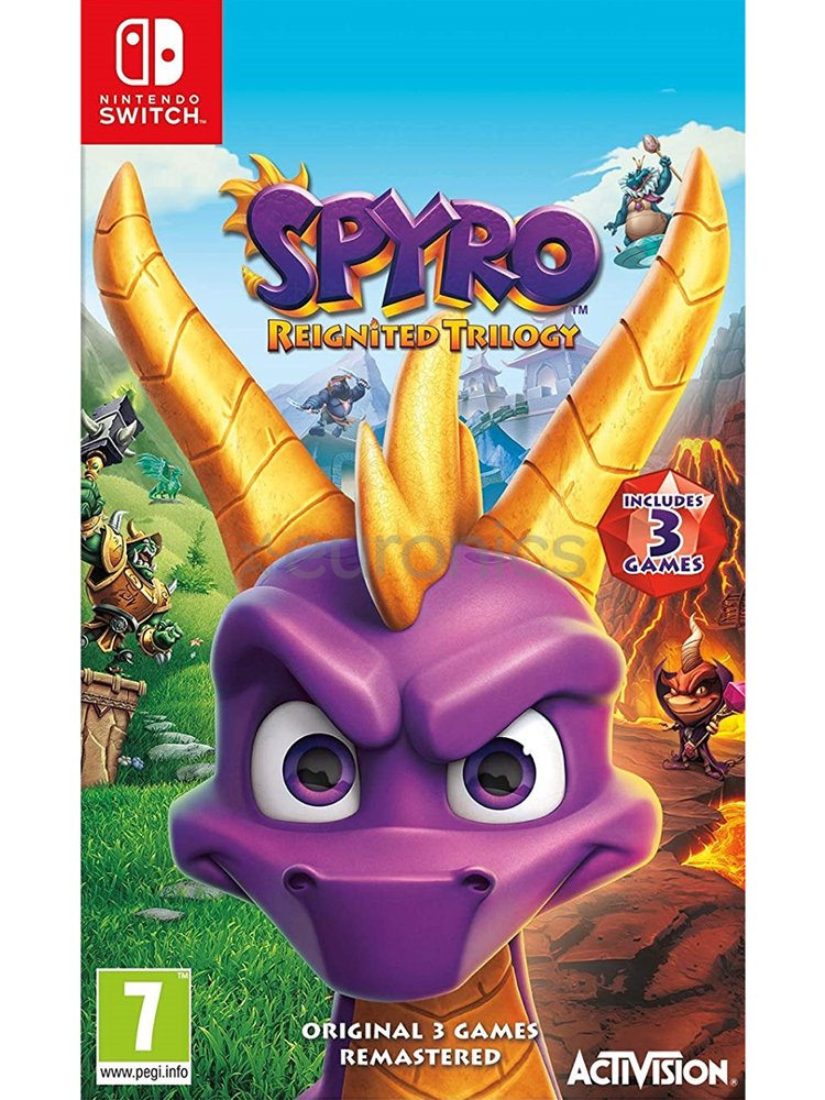 Image of   Spyro Reignited Trilogy - Nintendo Switch