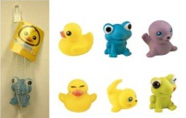 Kalendergaver, bade dyr, bade figur, legedyr, lege dyr, vandlegetøj, babylegetøj