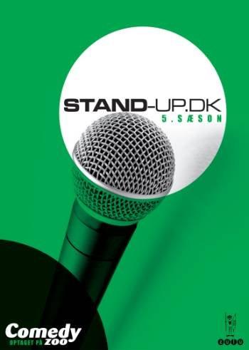 Image of   Stand Up Dk - Sæson 5 - DVD - Film