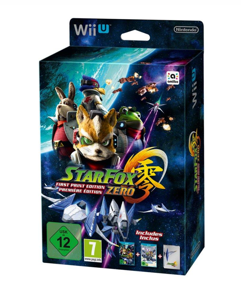 Star Fox Zero - First Print Edition - Wii U
