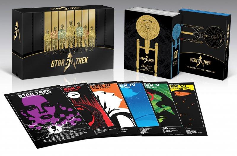 Star Trek 50th Anniversary Box-set - Blu-Ray