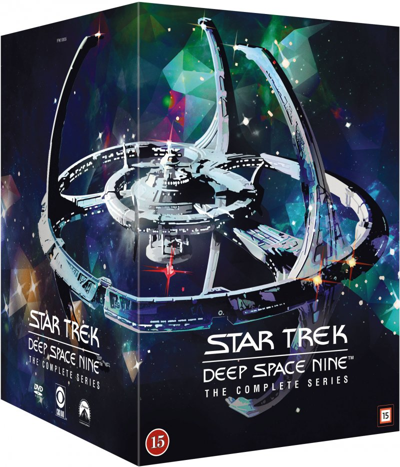 Image of   Star Trek Deep Space Nine Box - Den Komplette Serie - DVD - Tv-serie