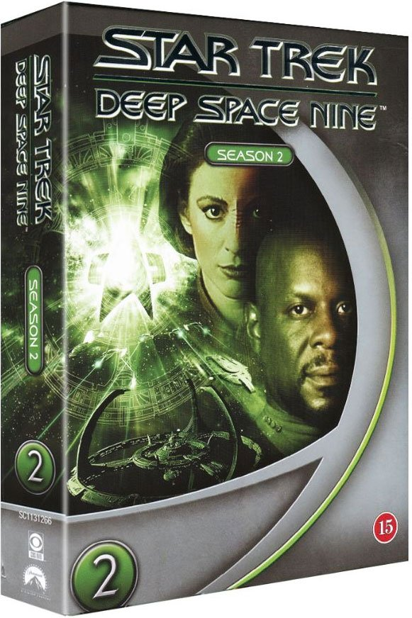 Image of   Star Trek: Deep Space Nine - Sæson 2 - DVD - Tv-serie