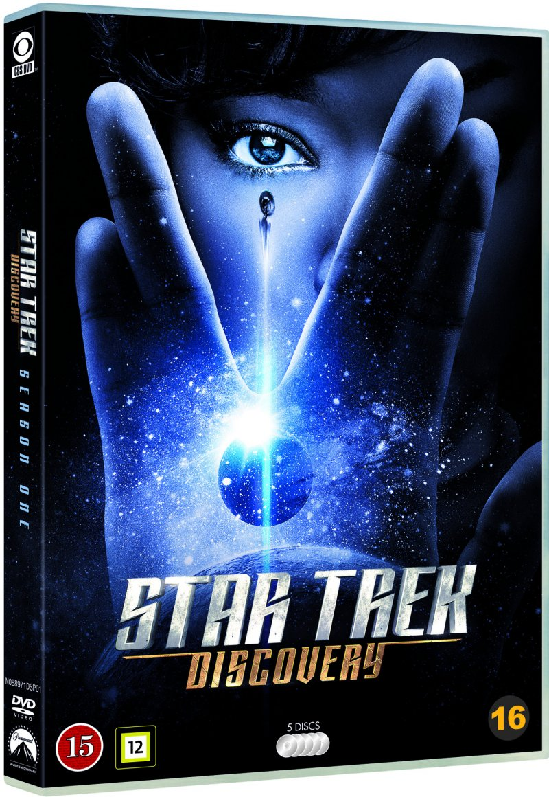 Image of   Star Trek Discovery - Sæson 1 - DVD - Tv-serie
