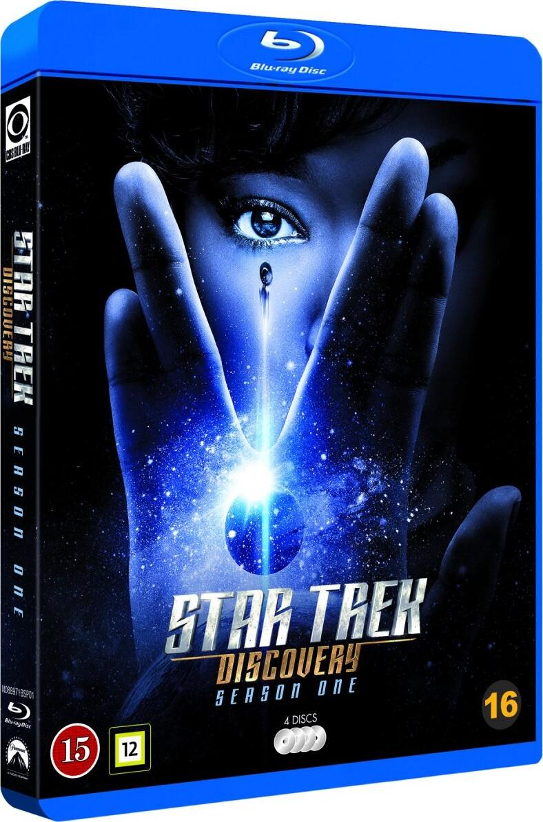 Image of   Star Trek Discovery - Sæson 1 - Blu-Ray - Tv-serie