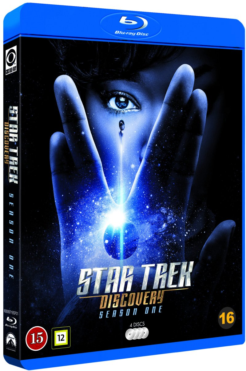 Image of   Star Trek Discovery - Sæson 1 - Blu-Ray - Tv-serie