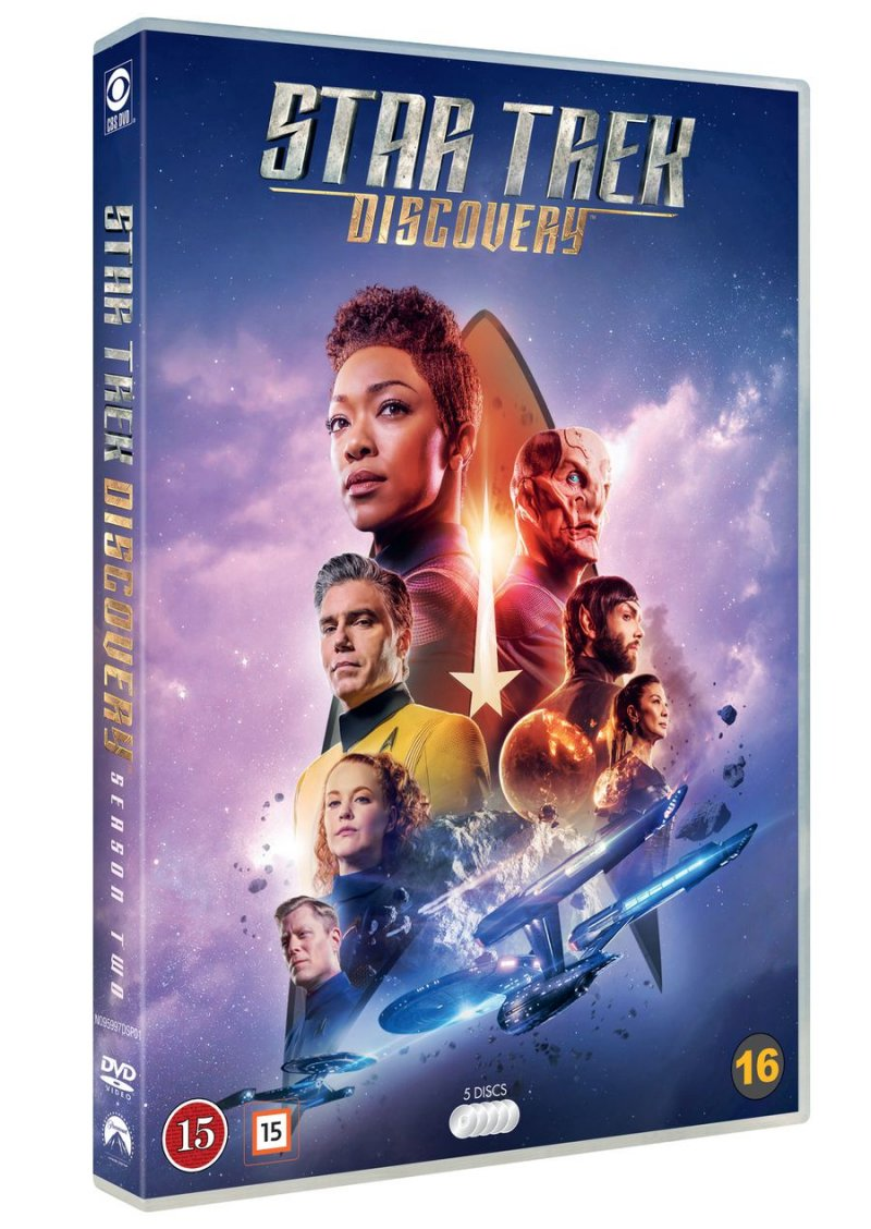 Image of   Star Trek: Discovery - Sæson 2 - DVD - Tv-serie