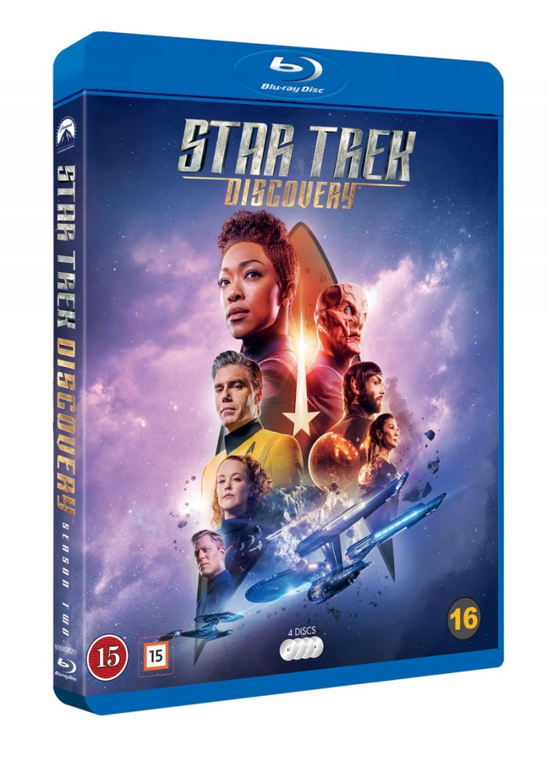 Image of   Star Trek: Discovery - Sæson 2 - Blu-Ray - Tv-serie