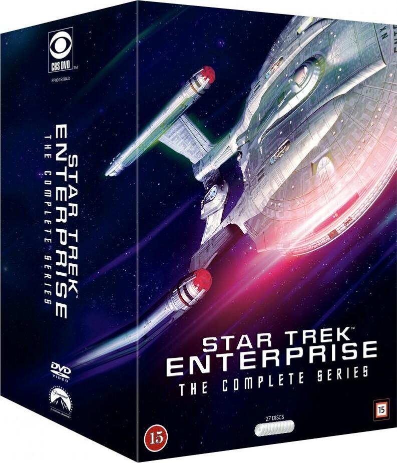 Image of   Star Trek Enterprise Box - Den Komplette Samling - DVD - Tv-serie