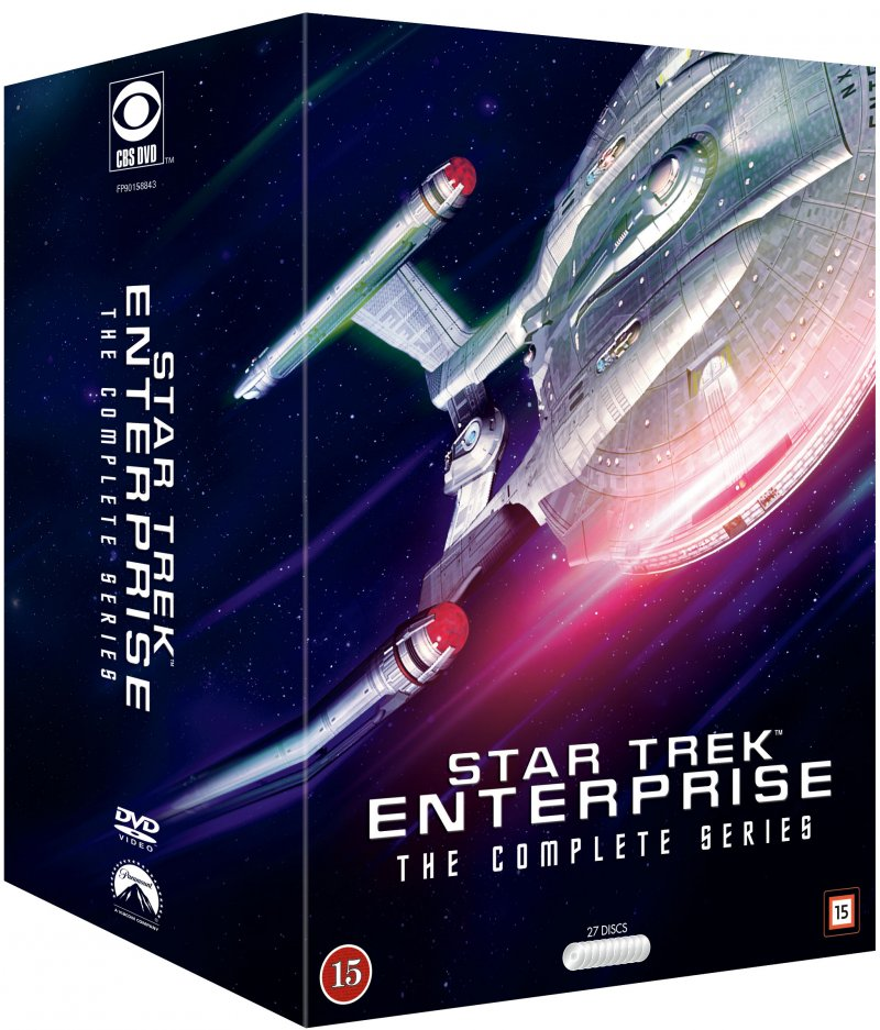 Image of   Star Trek Enterprise Box - Den Komplette Samling - DVD - Tv-serie