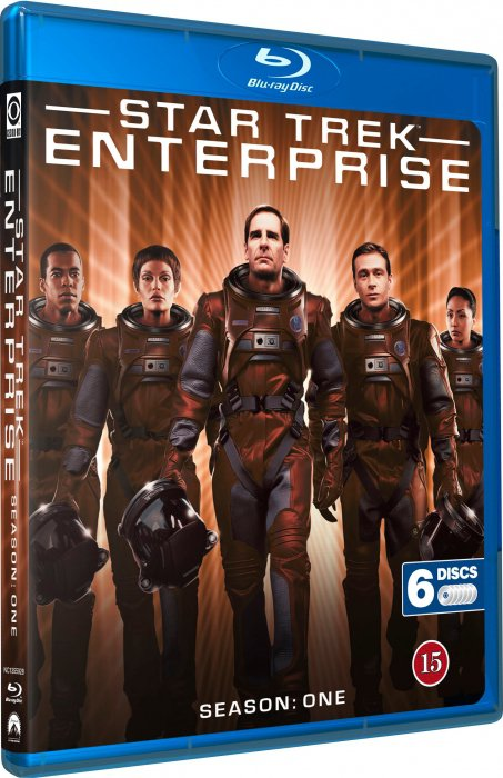 Image of   Star Trek - Enterprise - Sæson 1 - Blu-Ray - Tv-serie