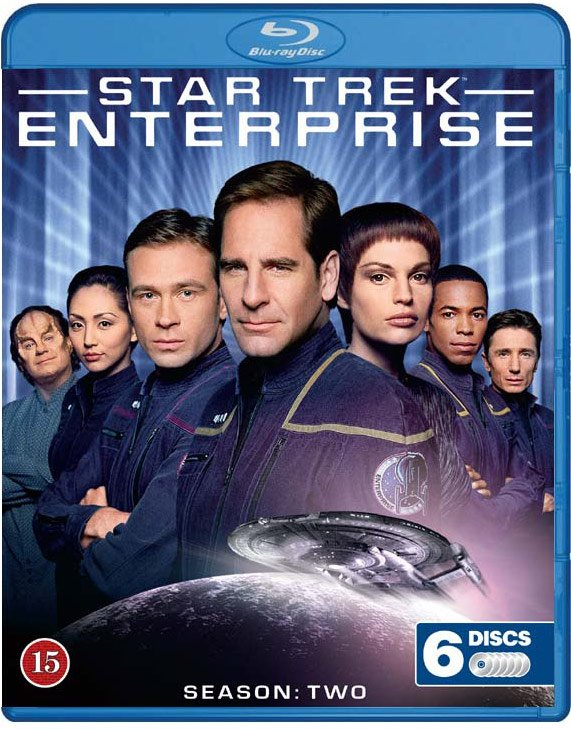 Image of   Star Trek Enterprise - Sæson 2 - Blu-Ray - Tv-serie
