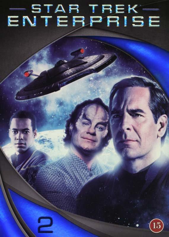 Image of   Star Trek Enterprise - Season 2 - DVD - Tv-serie