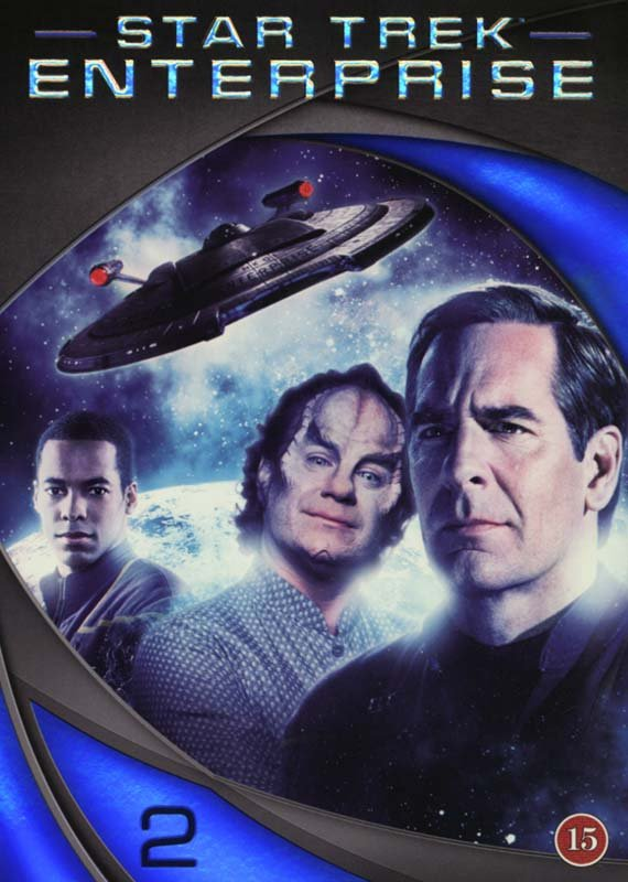 Image of   Star Trek Enterprise - Season 2 - DVD - Tv-serie