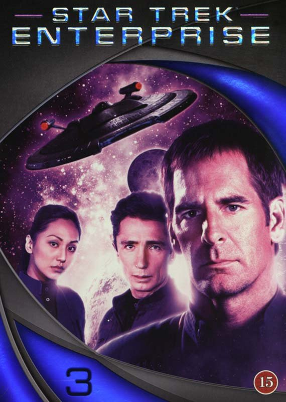 Image of   Star Trek Enterprise - Sæson 3 - DVD - Tv-serie