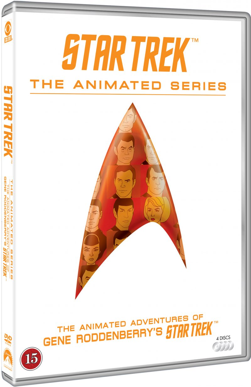 Image of   Star Trek: The Animated Series - Den Komplette Serie - DVD - Tv-serie