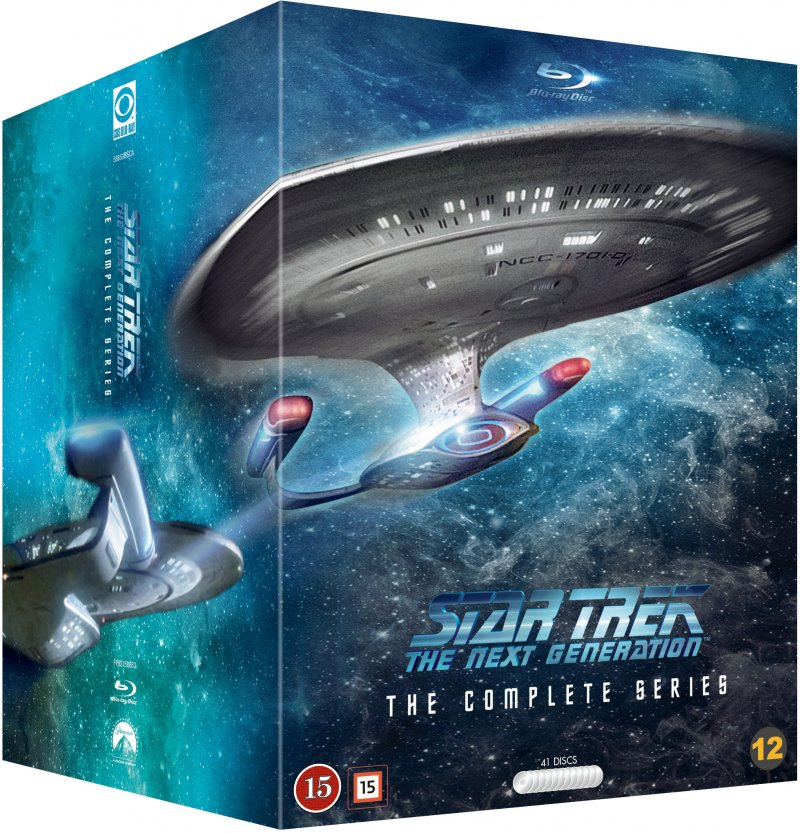 Star Trek The Next Generation Complete Box - Repack - Blu-Ray