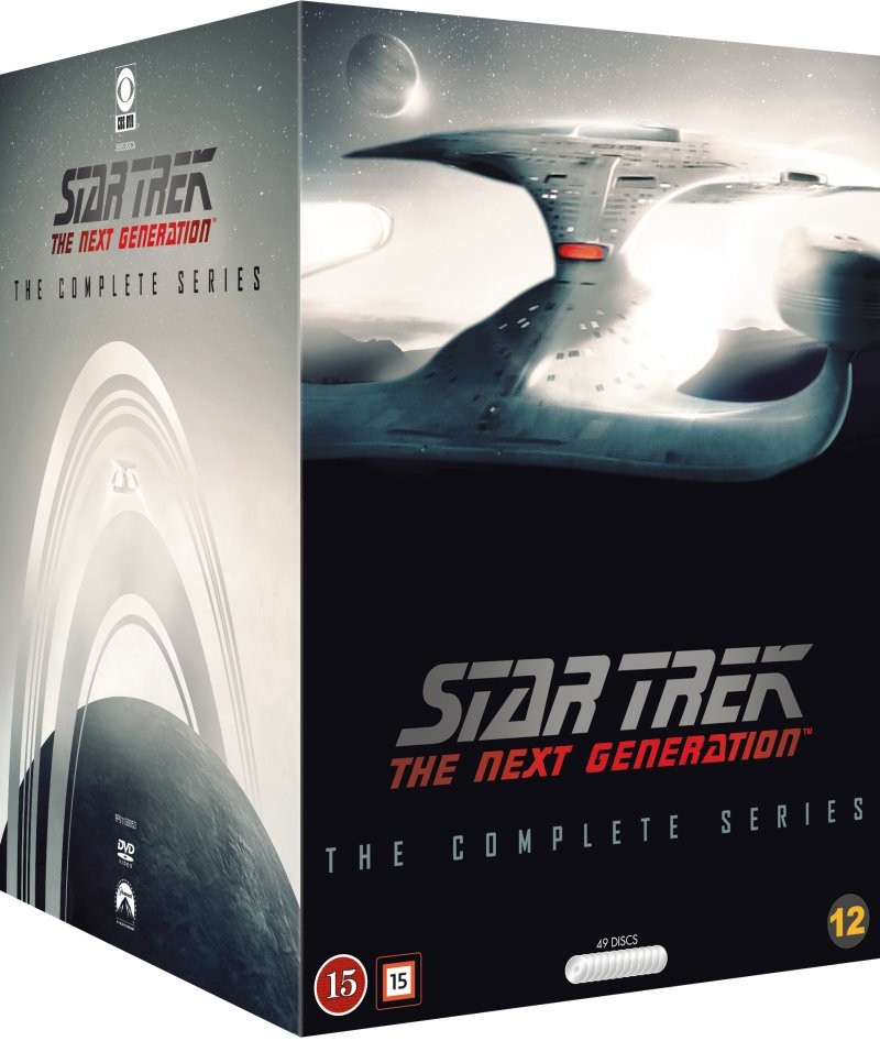 Image of   Star Trek: The Next Generation Box - The Complete Series - DVD - Tv-serie
