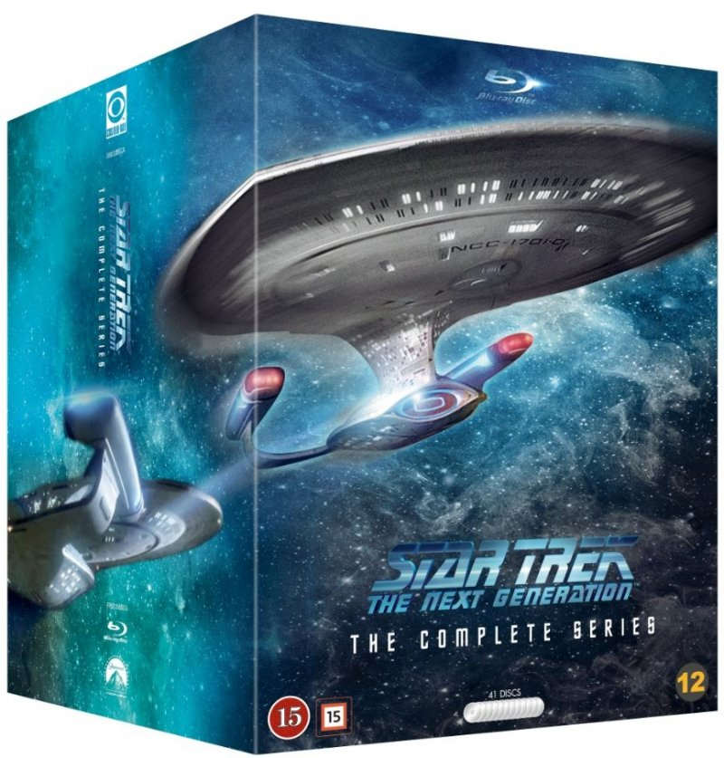 Image of   Star Trek - The Next Generation Sæson 1-7 - Complete Collection - Blu-Ray - Tv-serie
