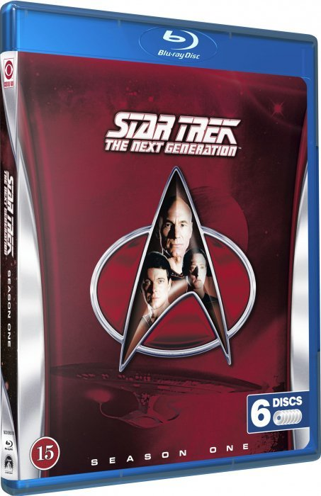 Image of   Star Trek - The Next Generation - Sæson 1 - Blu-Ray - Tv-serie