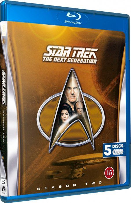 Image of   Star Trek - The Next Generation - Sæson 2 - Blu-Ray - Tv-serie