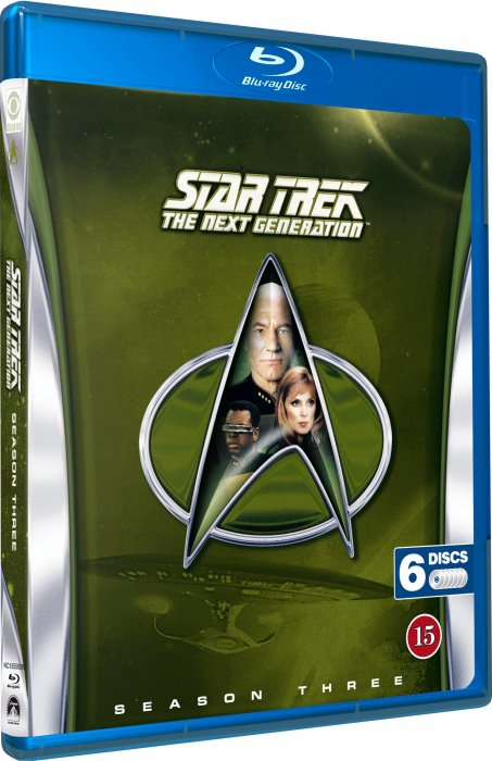 Image of   Star Trek - The Next Generation - Sæson 3 - Blu-Ray - Tv-serie